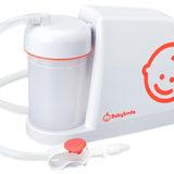 Merci-Pot, el aparato eléctrico para absorber el moco de los bebés(電動鼻水吸引機メルシーポット)