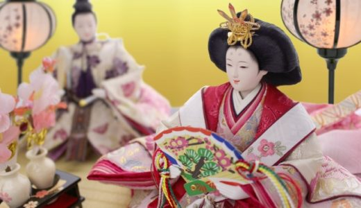 Hina-ningyo (雛人形) para el Festival de las Niñas